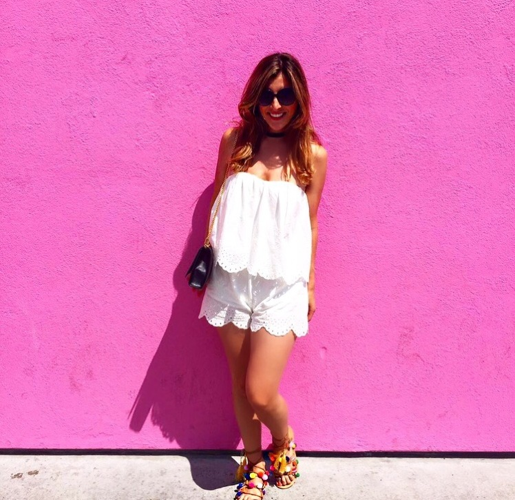 Manolos and martinis georgia burke pink wall.jpg
